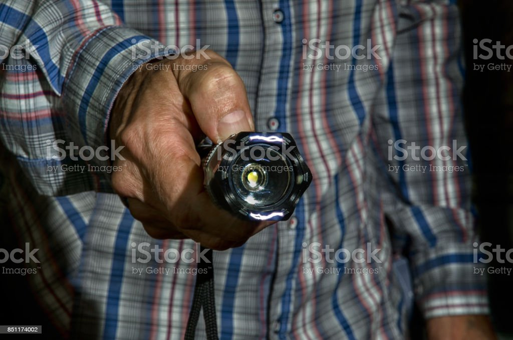 Taser for personal protection. stock photo