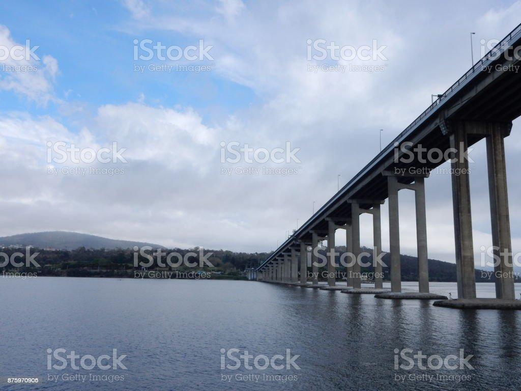 Tasman Bridge stock photo