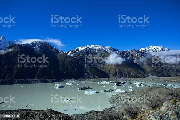 Photo of Tasman Lake Of The Mount Cook National Park