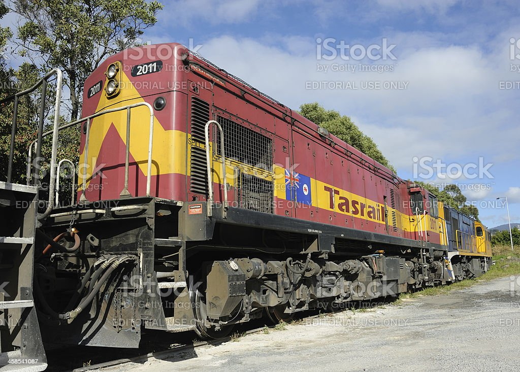Tasrail Diesel stock photo