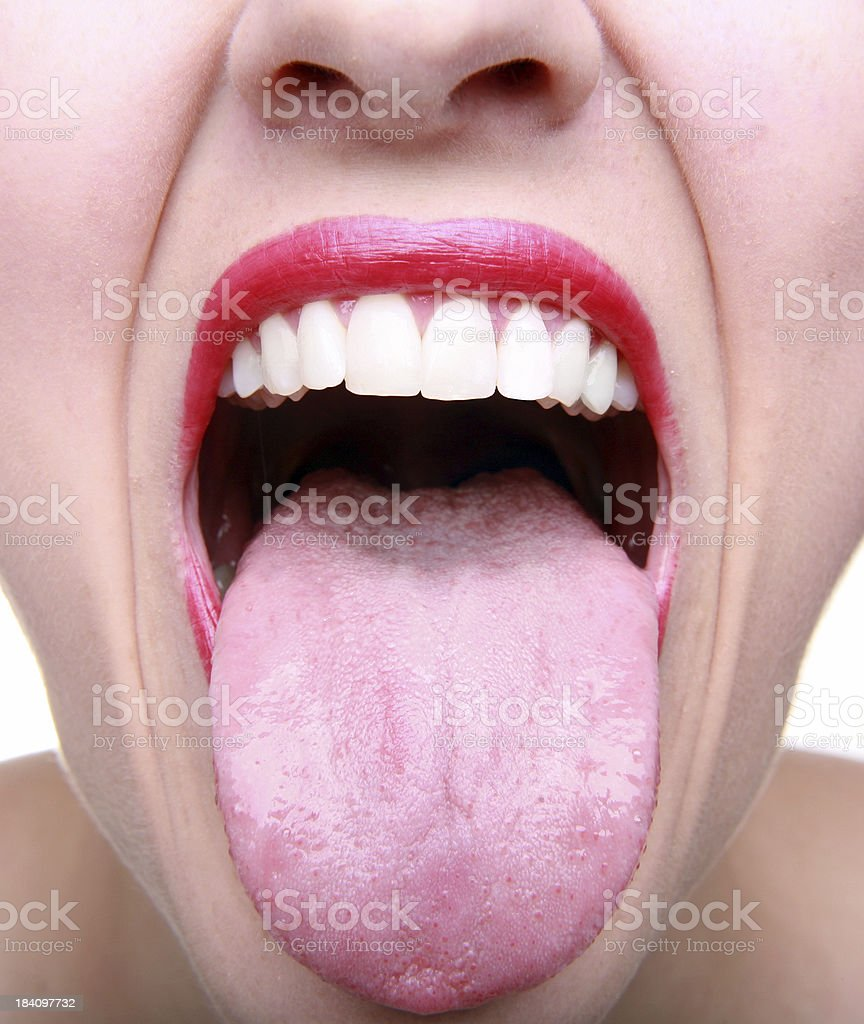 Taste Buds stock photo