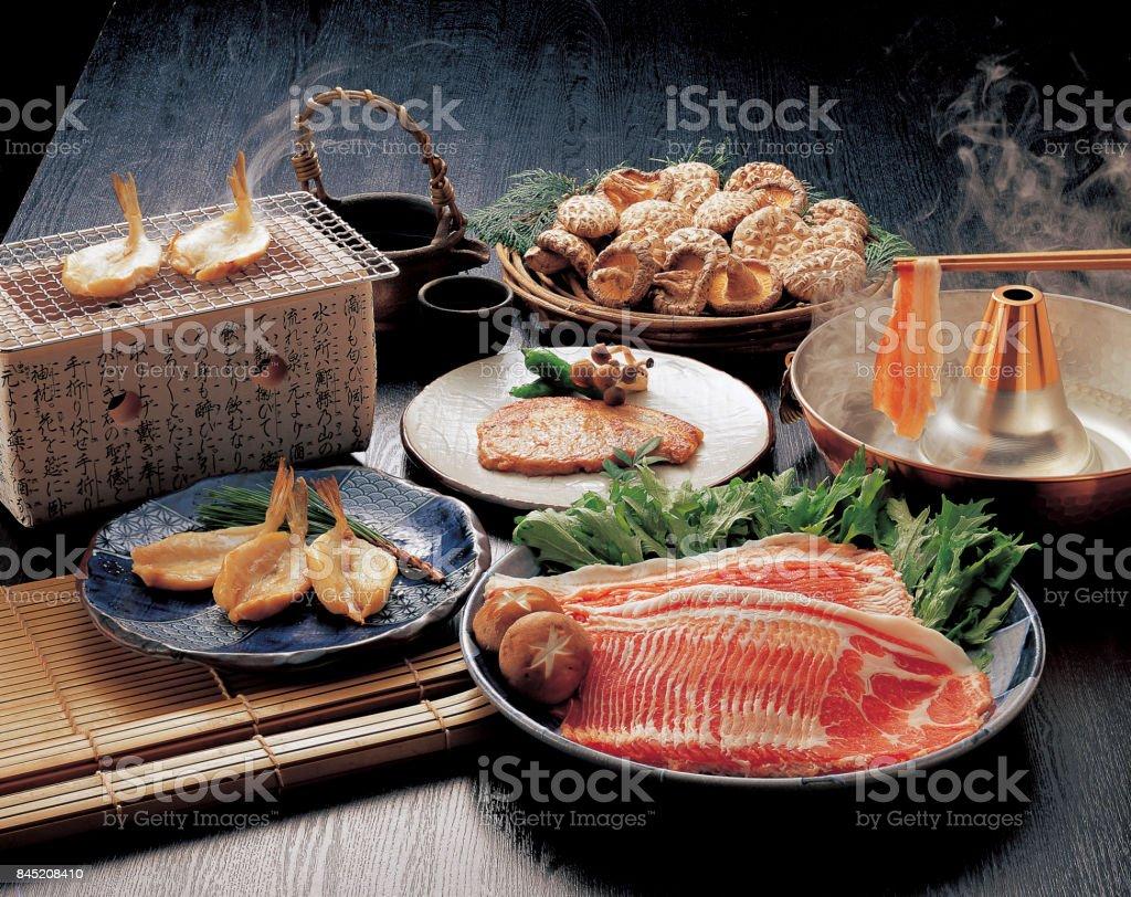 Taste of Kyushu stock photo