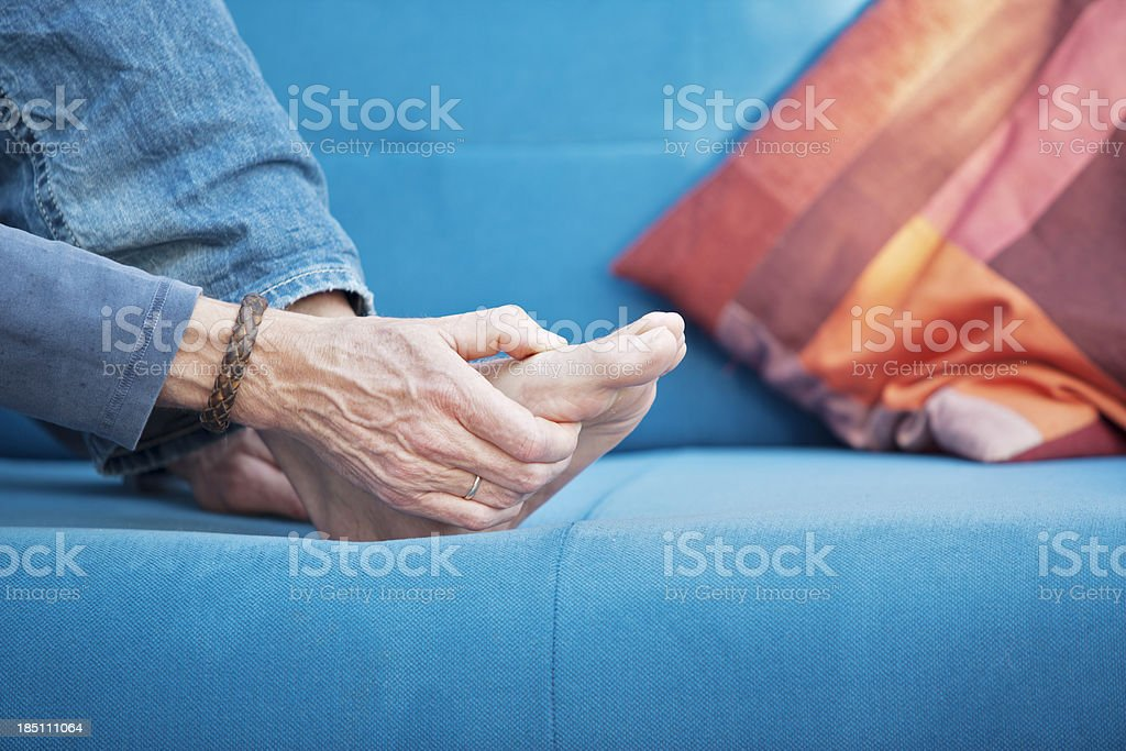 Gout stock photo