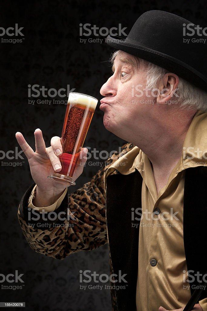 Taste Tester stock photo