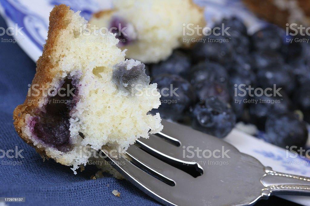 Taste the Blueberries royalty-free stock photo