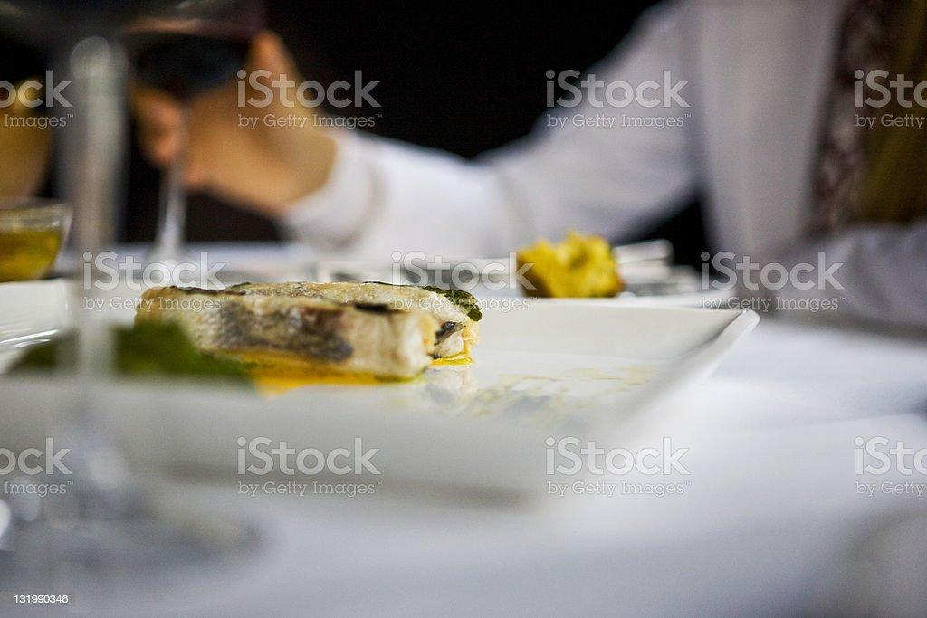 Tasteful fish royalty-free stock photo