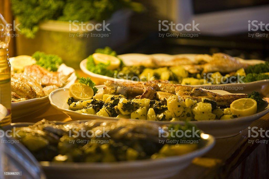 Tasteful food royalty-free stock photo