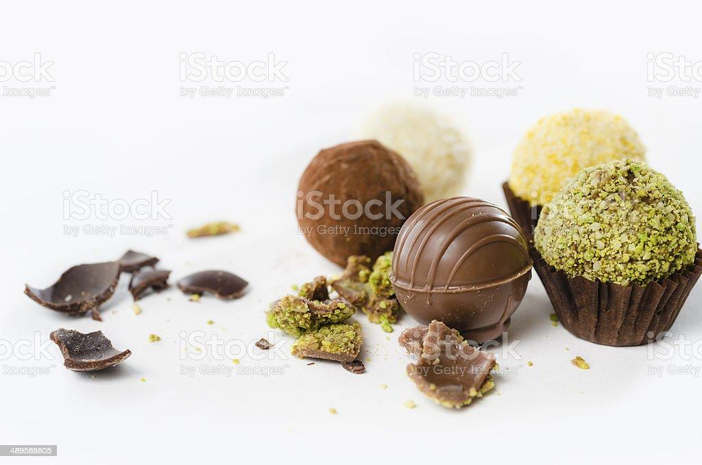 tastefull chocolate stock photo