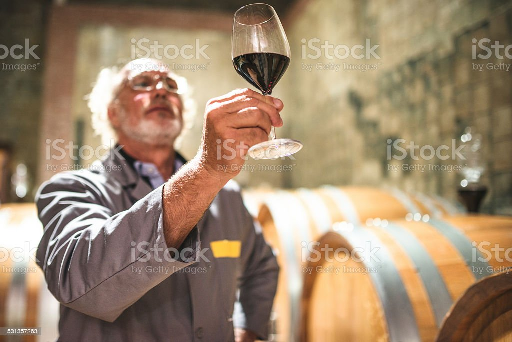 tasting my product stock photo