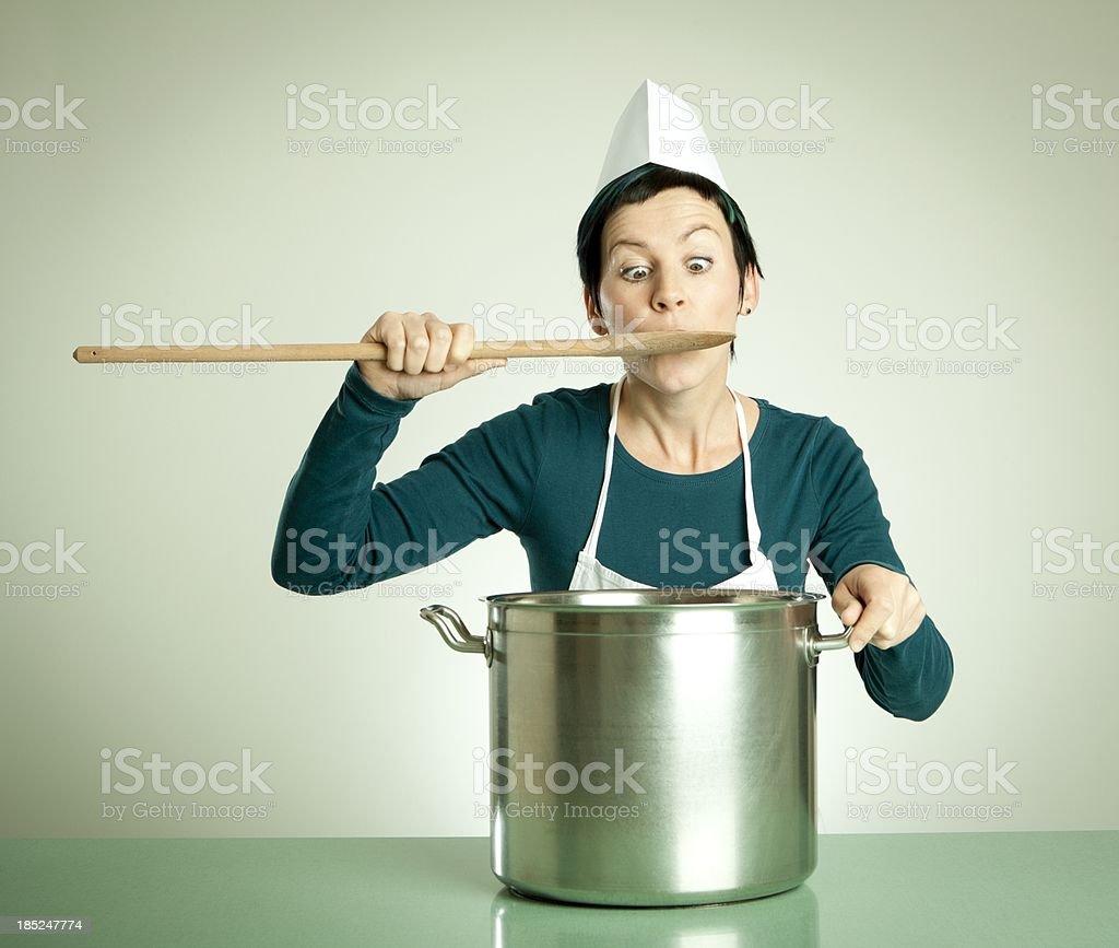 Tasting stock photo