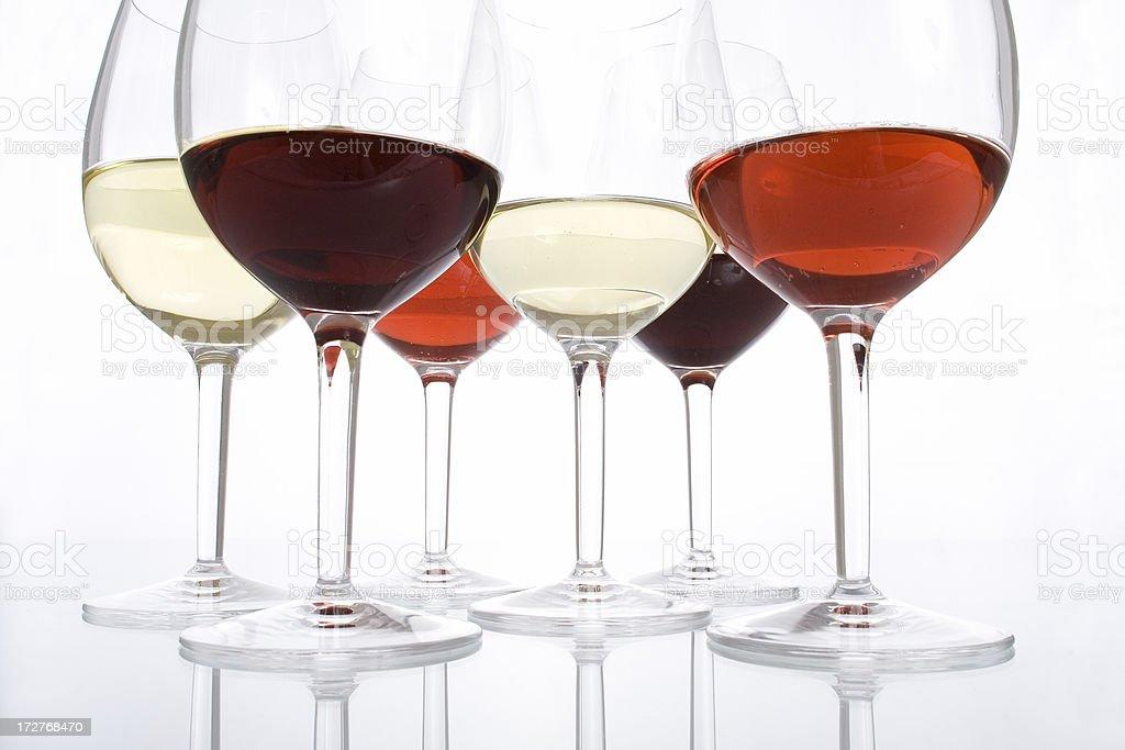 Tasting wine royalty-free stock photo