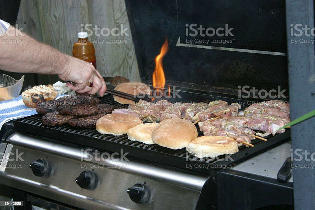 Tasty BBQ royalty-free stock photo