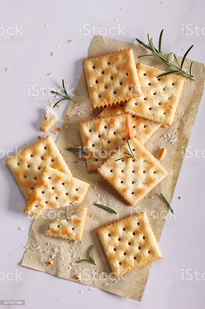tasty biscuits stock photo