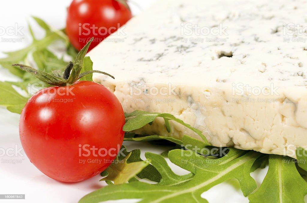 Tasty blue cheese royalty-free stock photo