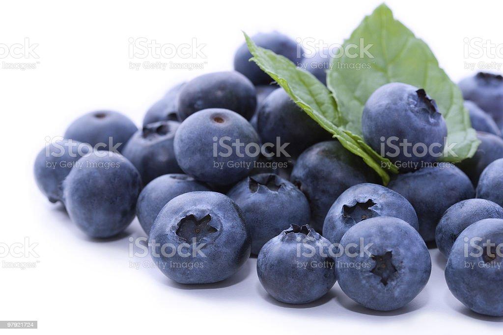 Tasty blueberries royalty-free stock photo