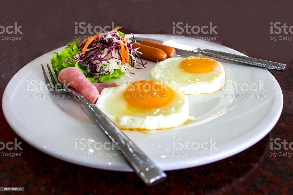 Tasty breakfast royalty-free stock photo