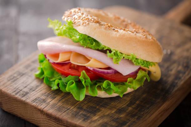 Leckeres Frühstück Sandwich. – Foto