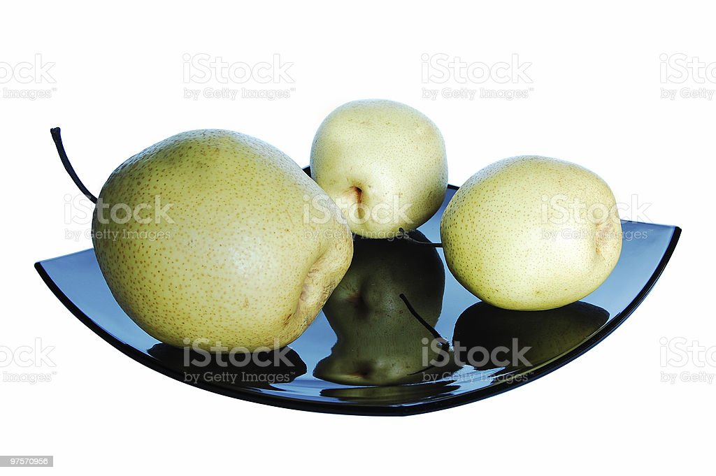 Tasty Chinese Pears royalty-free stock photo