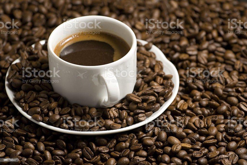 맛있는 커피를 royalty-free 스톡 사진