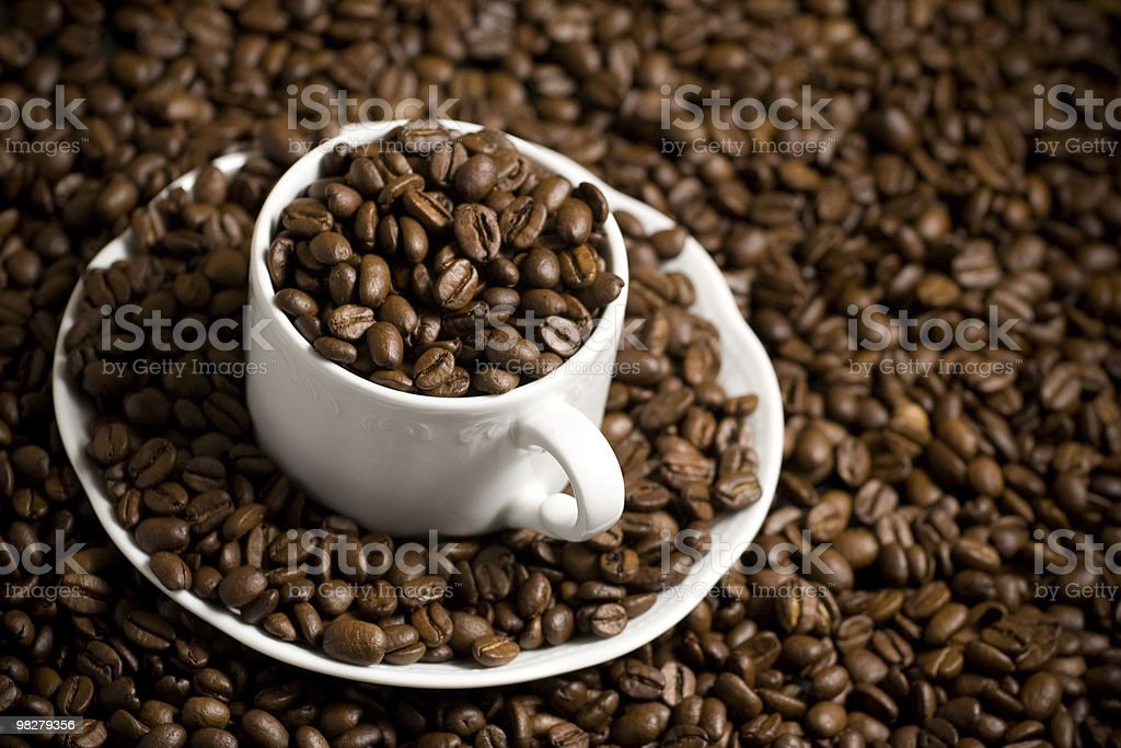 Tasty coffee royalty-free stock photo