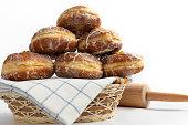 Tasty doughnuts flour 3