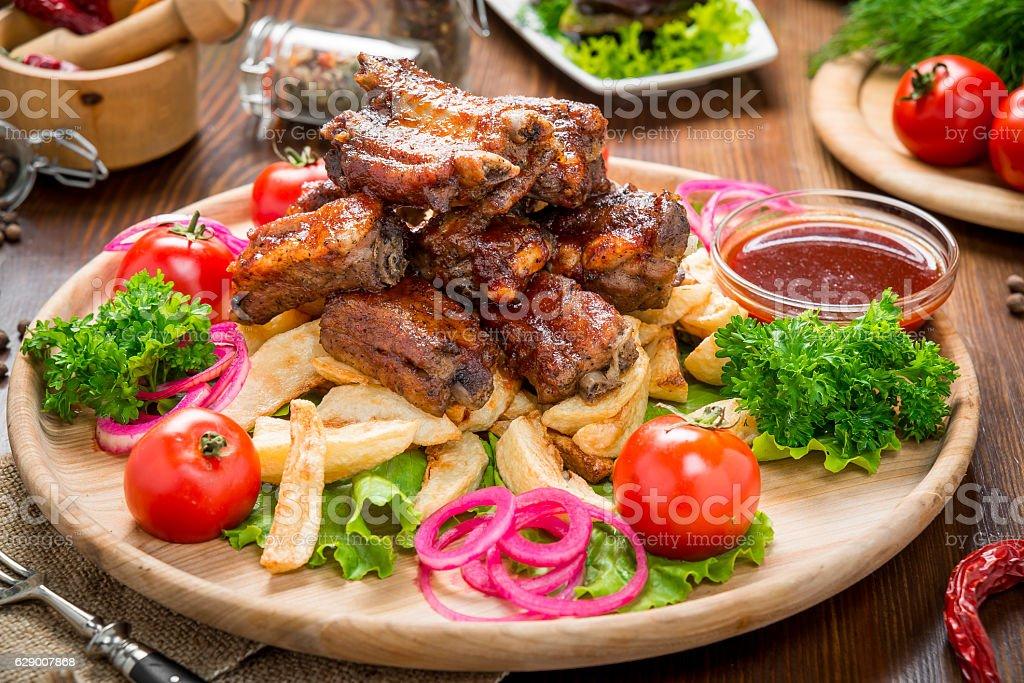 tasty food on the table – Foto
