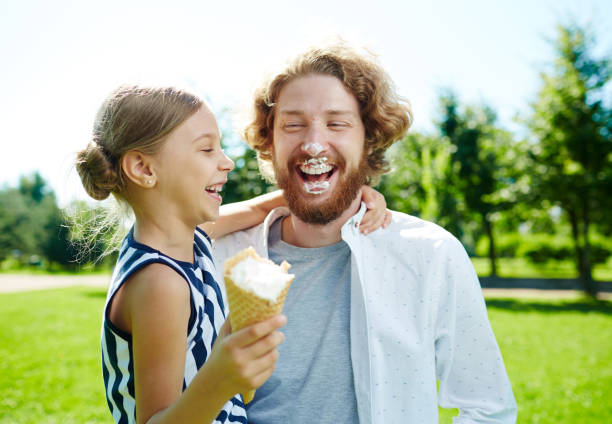 1,047 Dad And Daughter Ice Cream Stock Photos, Pictures & Royalty-Free Images - iStock