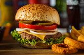 Burger, Hamburger, Fast Food, Cheeseburger, Food