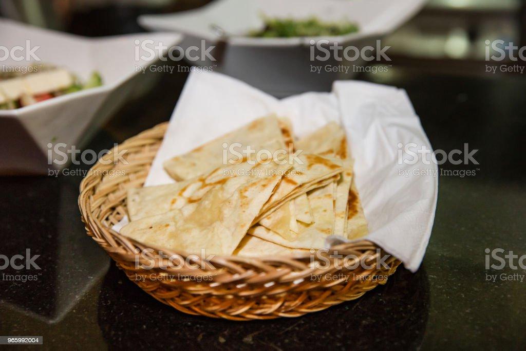 Lekkere pita brood - Royalty-free Afvallen Stockfoto