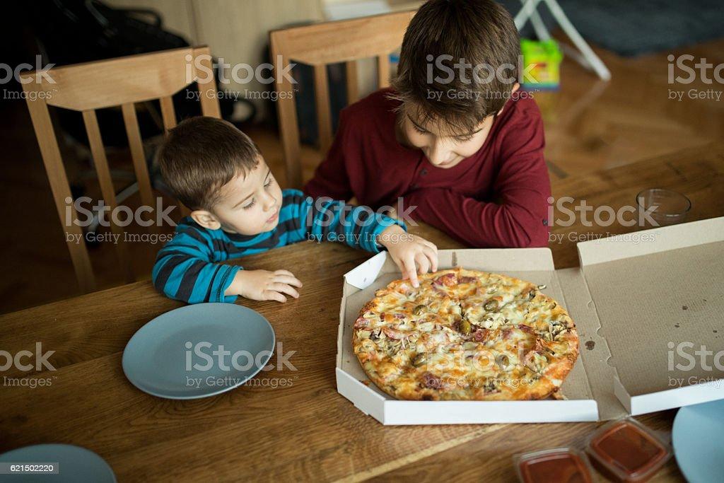 Leckere pizza  Lizenzfreies stock-foto