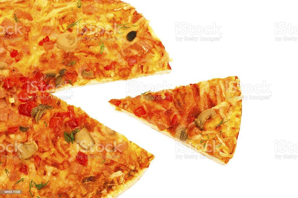 tasty pizza royalty-free stock photo