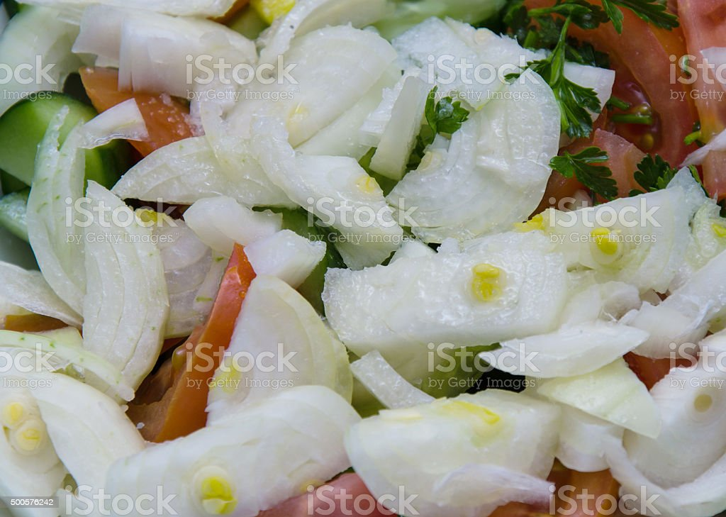 Tasty Salad stock photo