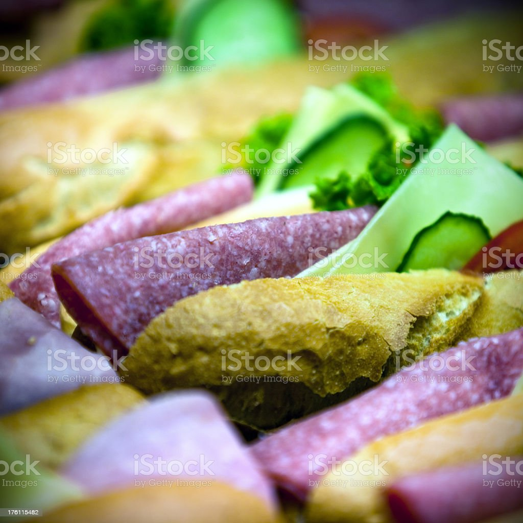 Tasty sandwich royalty-free stock photo