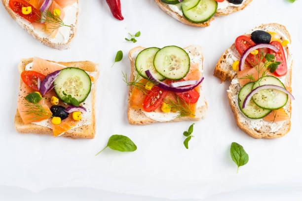 Tasty sandwiches – zdjęcie