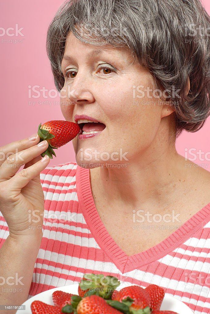 Tasty strawberries royalty-free stock photo