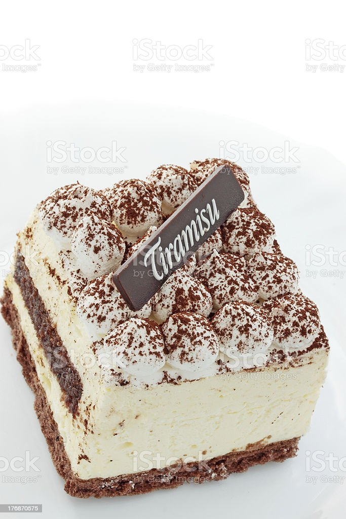 Tasty tiramisu royalty-free stock photo