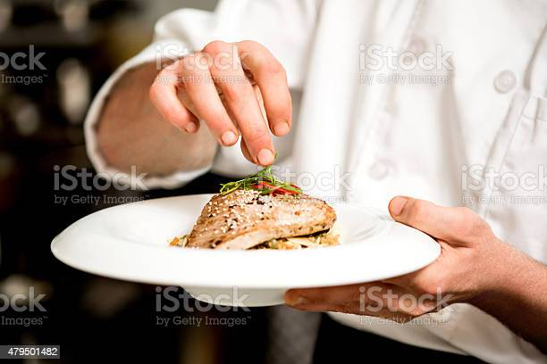 Tasty Tuna Appetizer Is Ready Stock Photo - Download Image Now