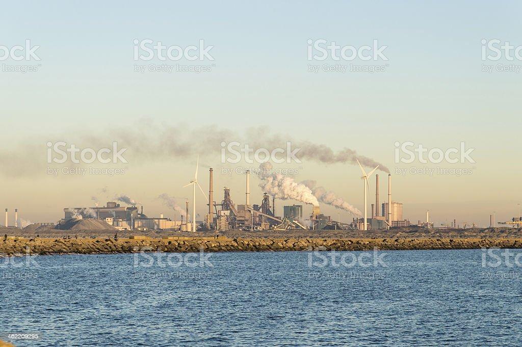 Tata Steel Factory stock photo