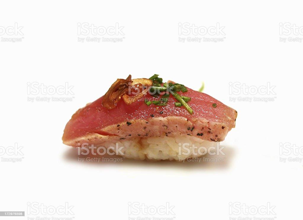 tataki sushi stock photo