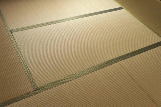 畳 - 日本の伝統的なマット - 畳 ストックフォトと画像