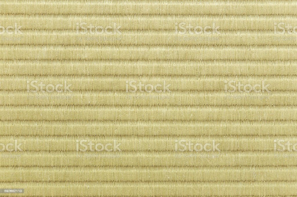 Tatami mat's texture, good for background stock photo