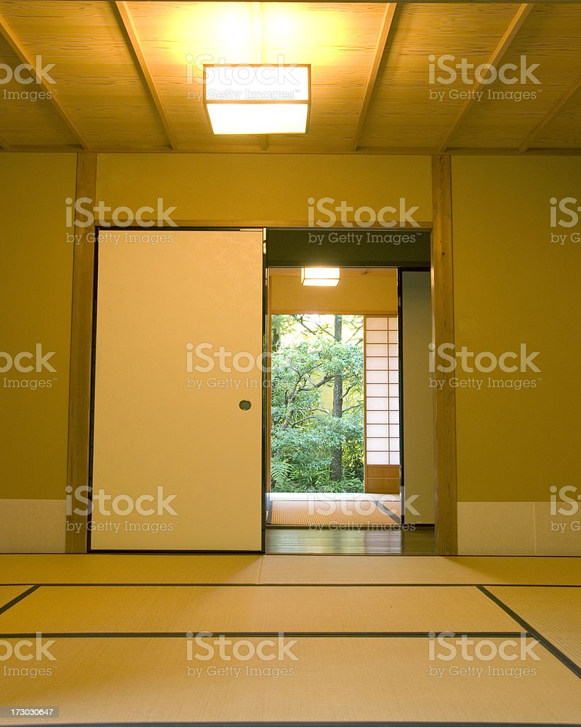 Tatami Room stock photo
