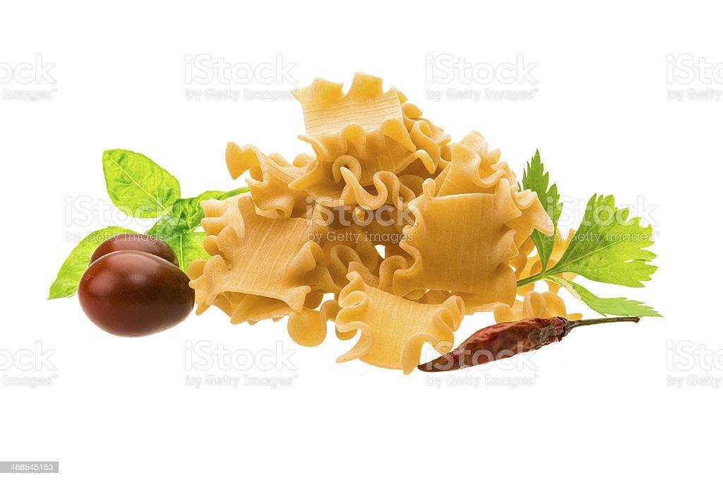 Tatarian trabition macaroni stock photo