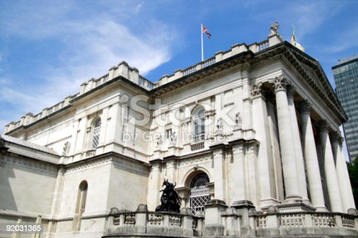 Tate Britain built between 1893-97 and commonly known as the Tate Gallery is situated at the side of the Thames at London's Millbank. Named after it's founder Sir Henry Tate it exhibits only British Art