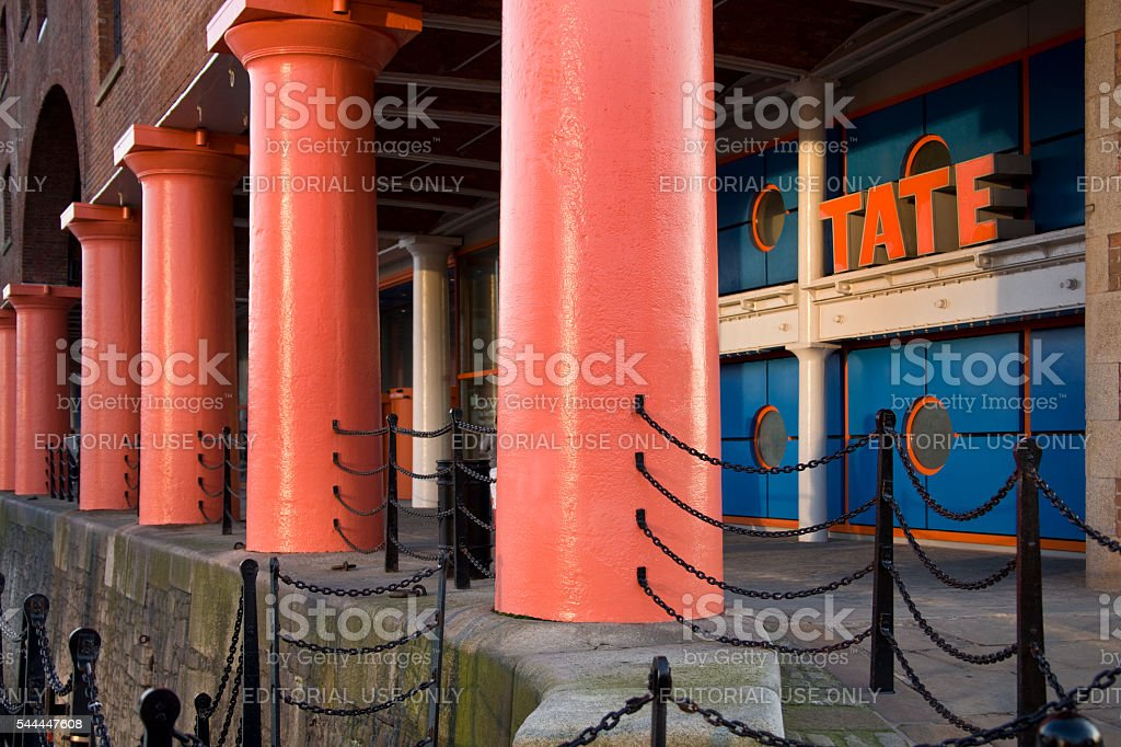 Tate Galley - Liverpool - Great Britain stock photo