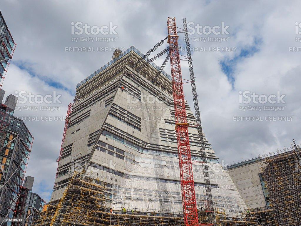 Tate Modern 2 in London stock photo