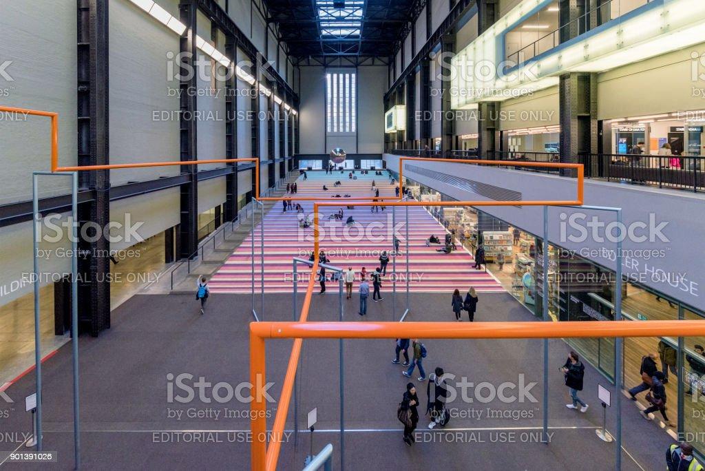 Tate Modern art gallery stock photo