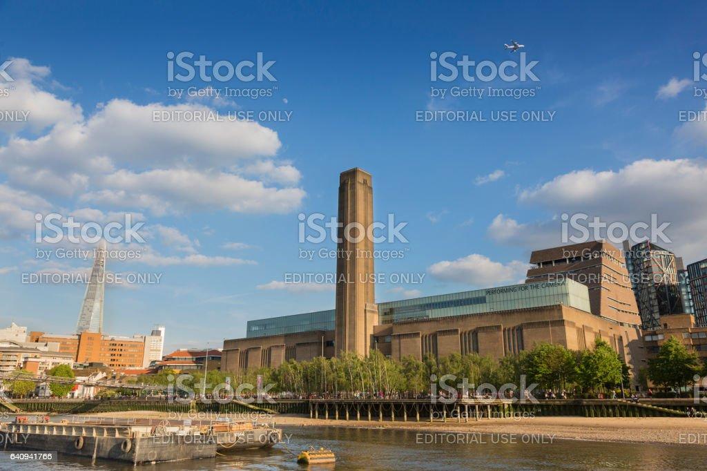 Tate  Modern Gallery stock photo