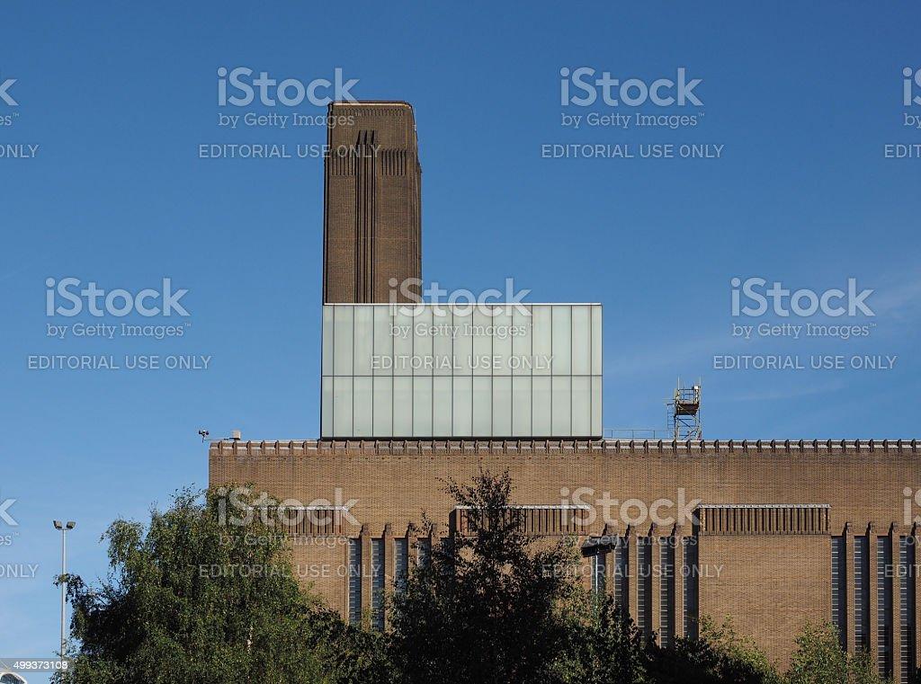 Tate Modern in London stock photo