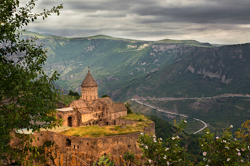 istock Tatev Cathedral in Goris, Armenia. 701090804